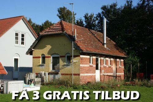 3 tilbud holstebro tømrer